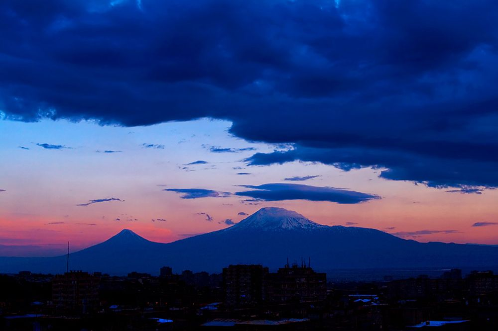 Sunset Ararat  Armenia