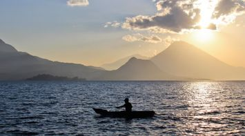 title: Sunset in Solola Guatemala