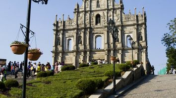 The Ruins of St Paul s Cathedral Macau