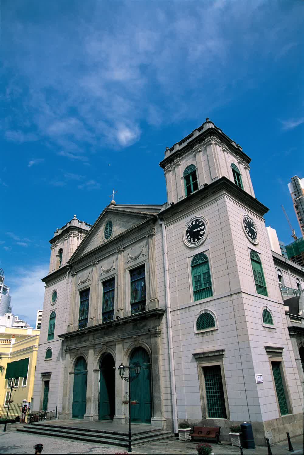 The cathedral church of Macau