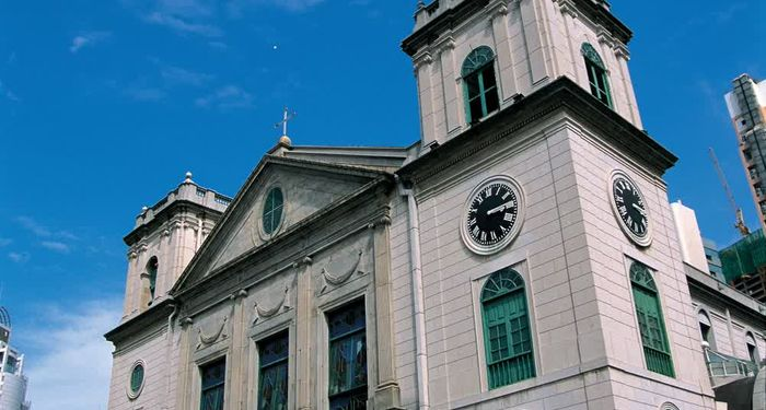 title: The cathedral church of Macau