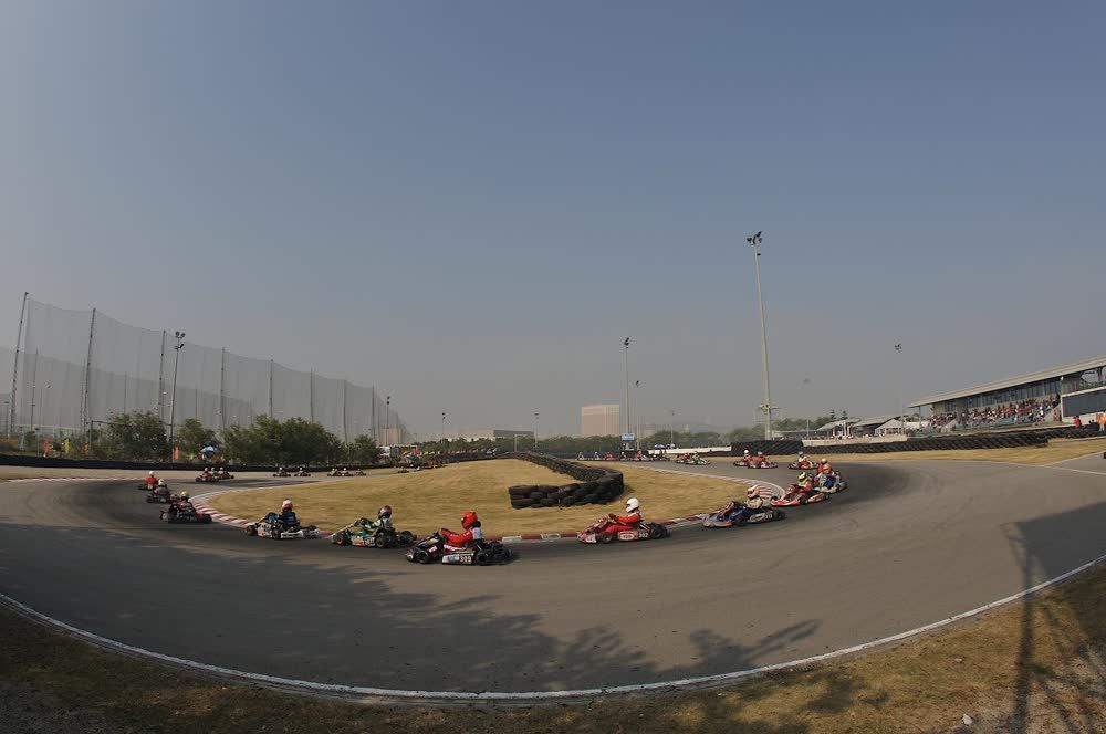 title: The karting course Macau