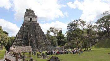 title: Tourism at Tikal Guatemala