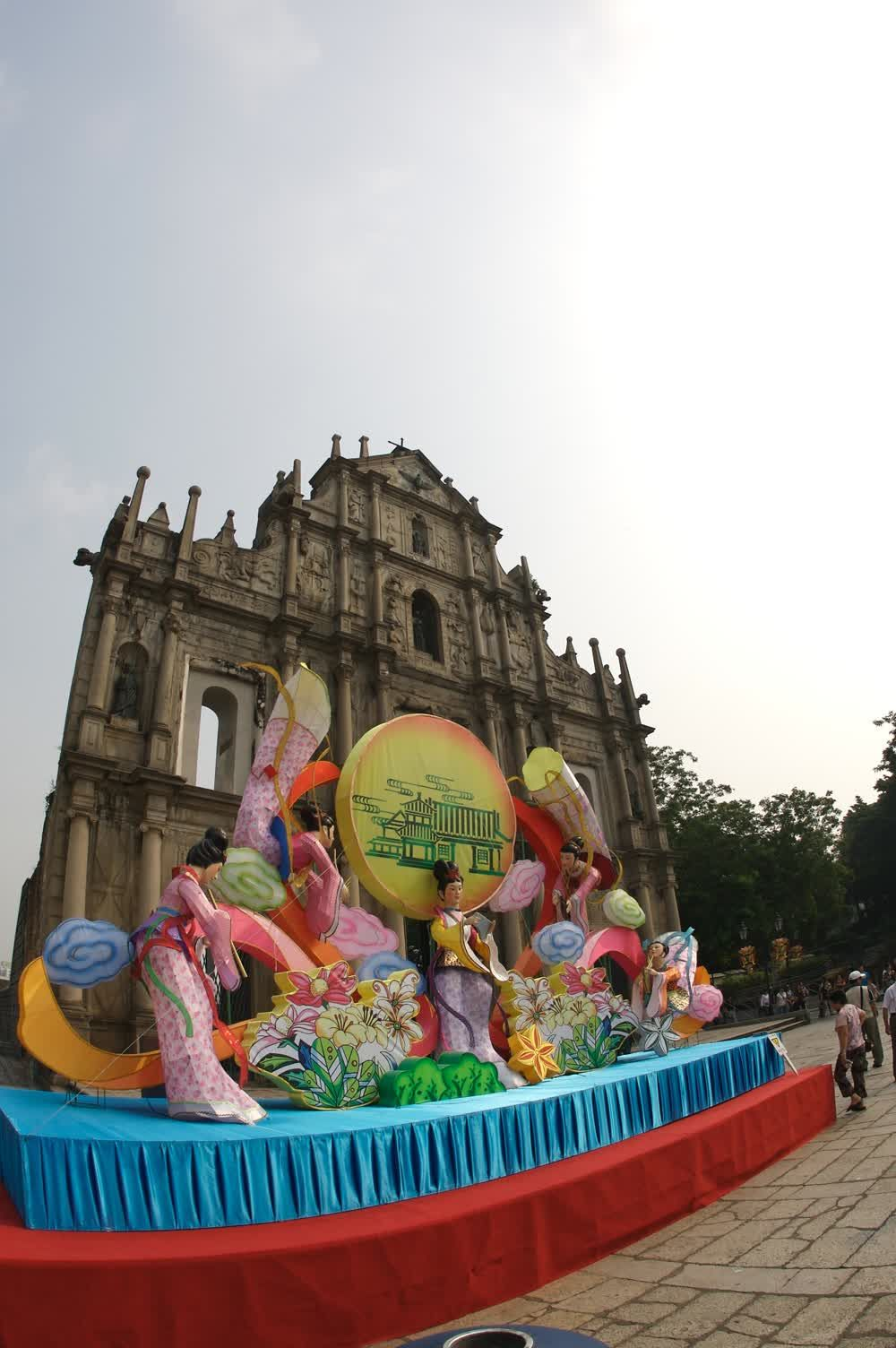 Traditional carnaval Macau
