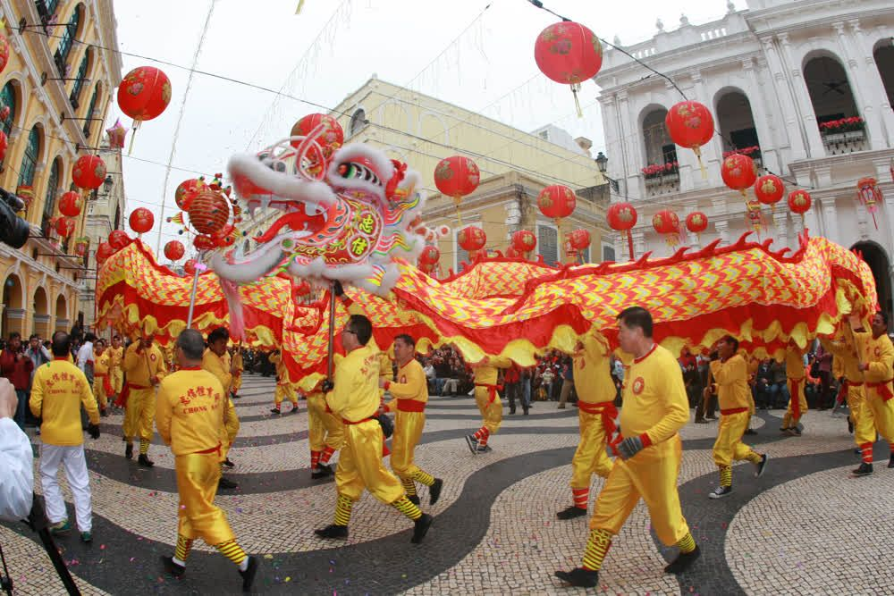 title: Traditional festival in Macau