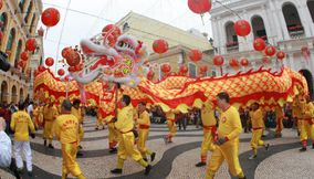 Traditional festival in Macau