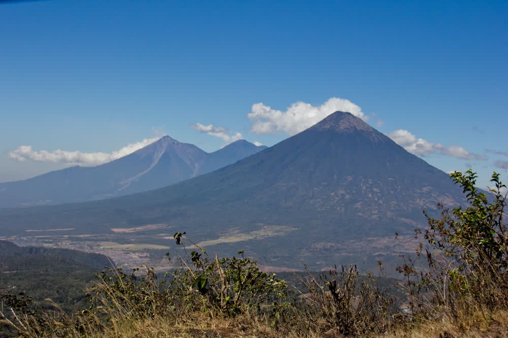 title: Trees and volcanes de Guatemala