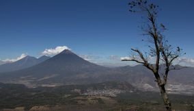 Very beautiful volcanes de Guatemala