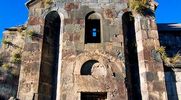 title: Walls of Gndevank Armenia