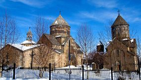 title: Winter and Kecharis Armenia