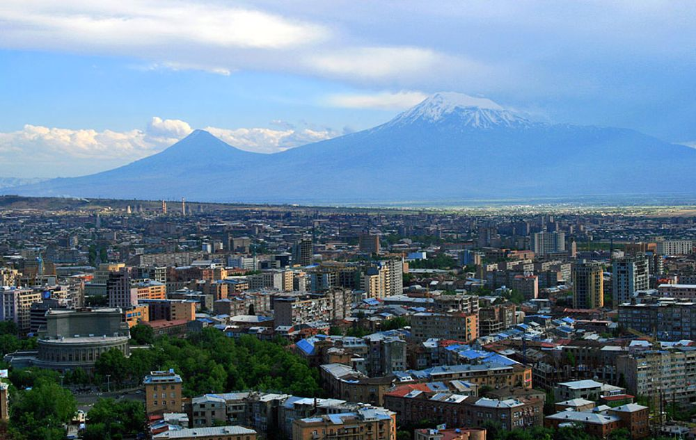 title: Yerevan and Ararat Armenia