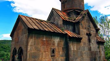the old St Harutyun church Armenia