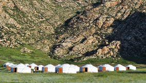 A Camp for travelers khankhar Mongolia