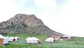 title: A walk around Mt Khogno Khan Hotels khankhar Mongolia
