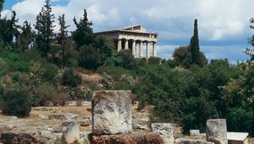 title: Ancient Agora Athens Attica Greece