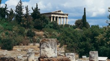 Ancient Agora Athens Attica Greece