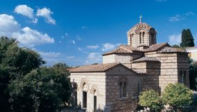 Ancient Agora Church of the Apostles Athens Attica Greece