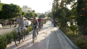 Biking Kos Greece