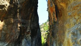 title: Chania Samaria Gorge Crete Island Greece