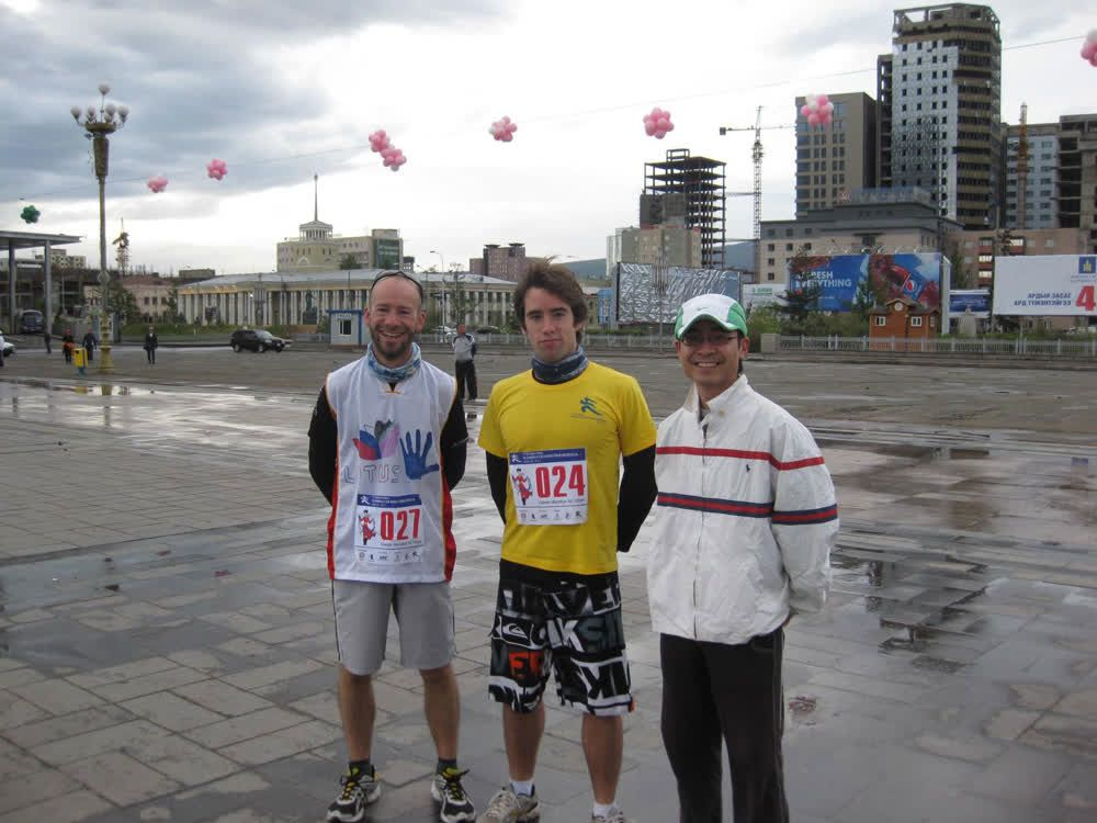 title: Competitors in Marathon Mongolia