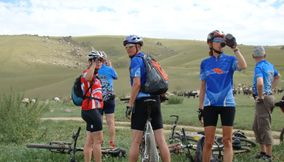 title: Cycling in green Mongolia