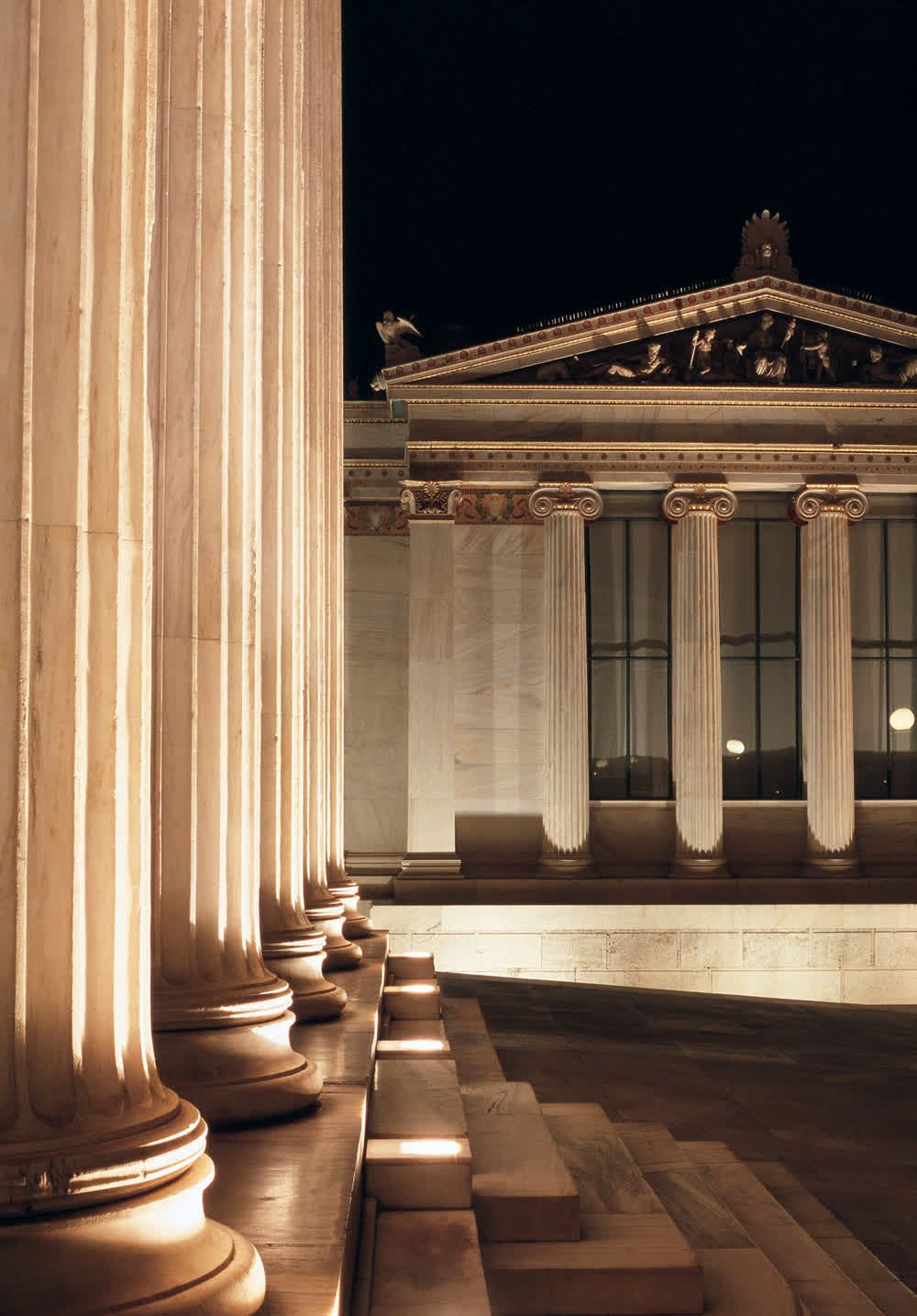 title: Exterior of the Academy of Athens Attica Greece