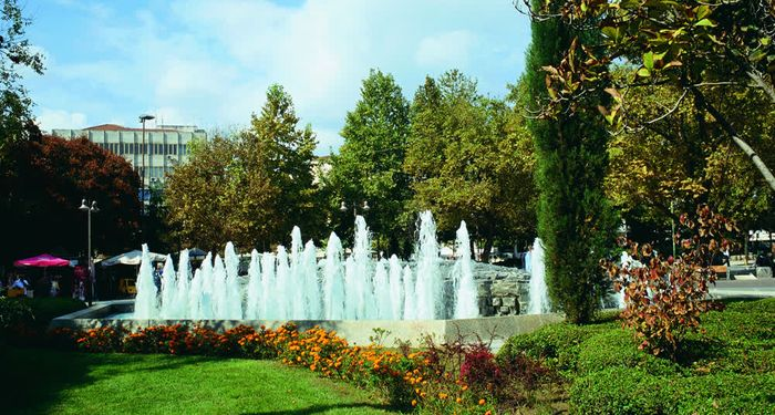 title: Fountain Larisa Thessaly Greece