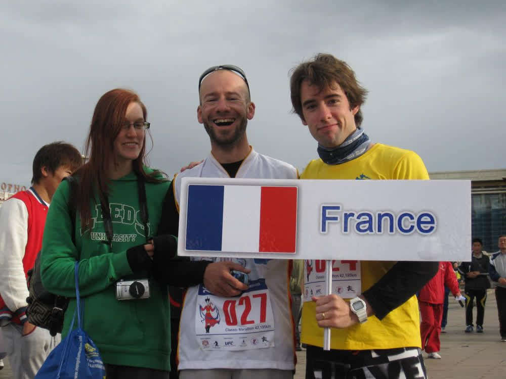 title: French participants in Marathon Mongolia