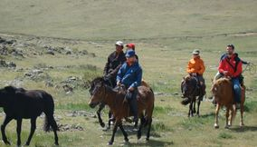 title: Horse riding tour Mongolia