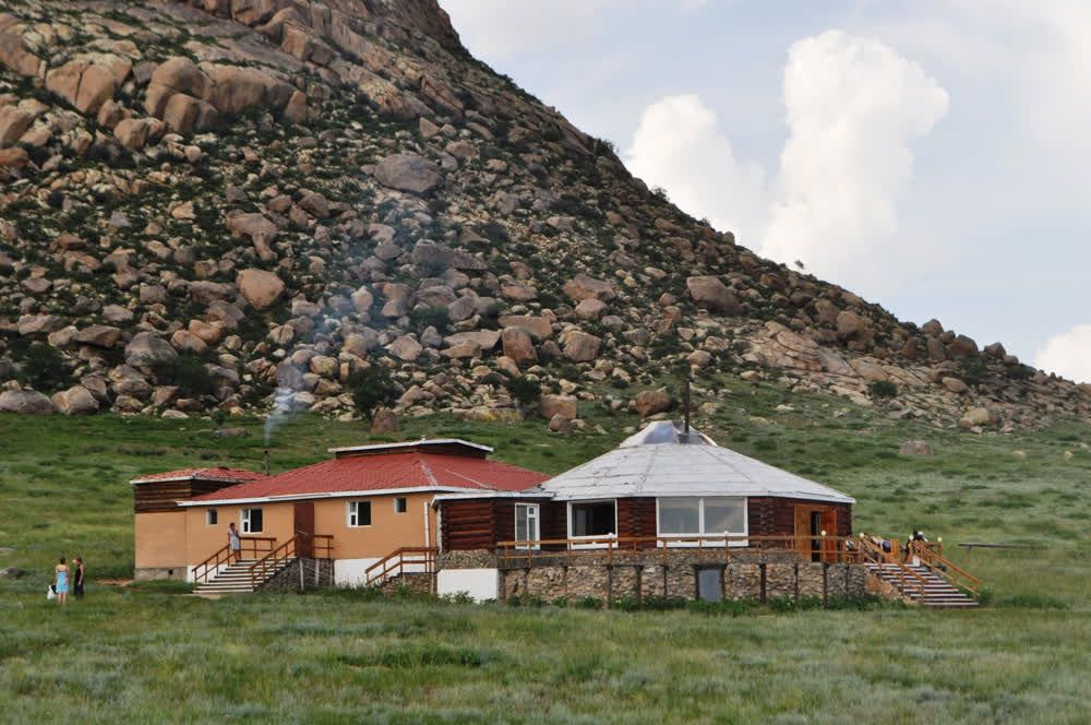 title: Hotel in nature Khankhar Mongolia