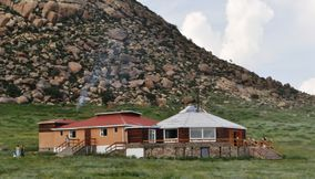 Hotel in nature Khankhar Mongolia