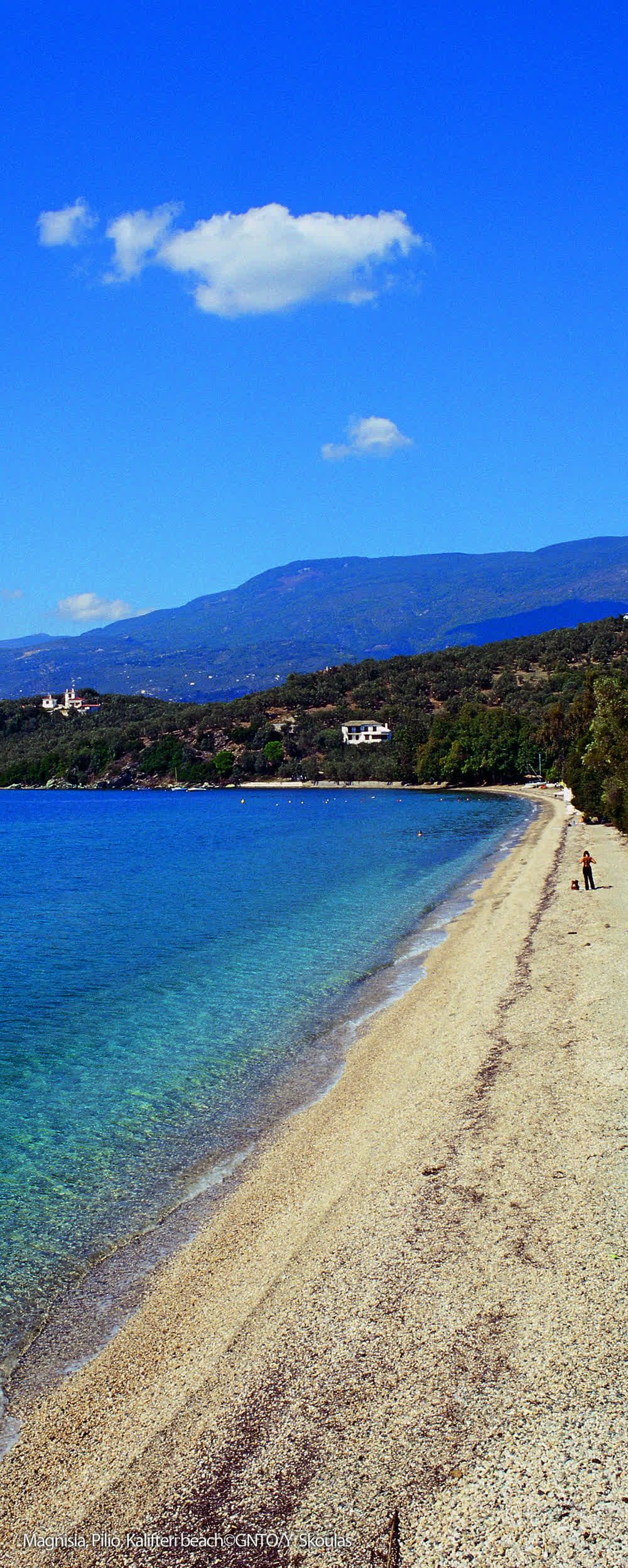 title: Magnisia Pilio Kalifteri beach Greece
