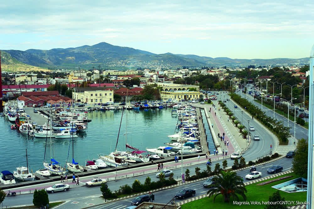 title: Magnisia Volos harbour Thessaly Greece