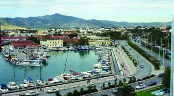 Magnisia Volos harbour Thessaly Greece