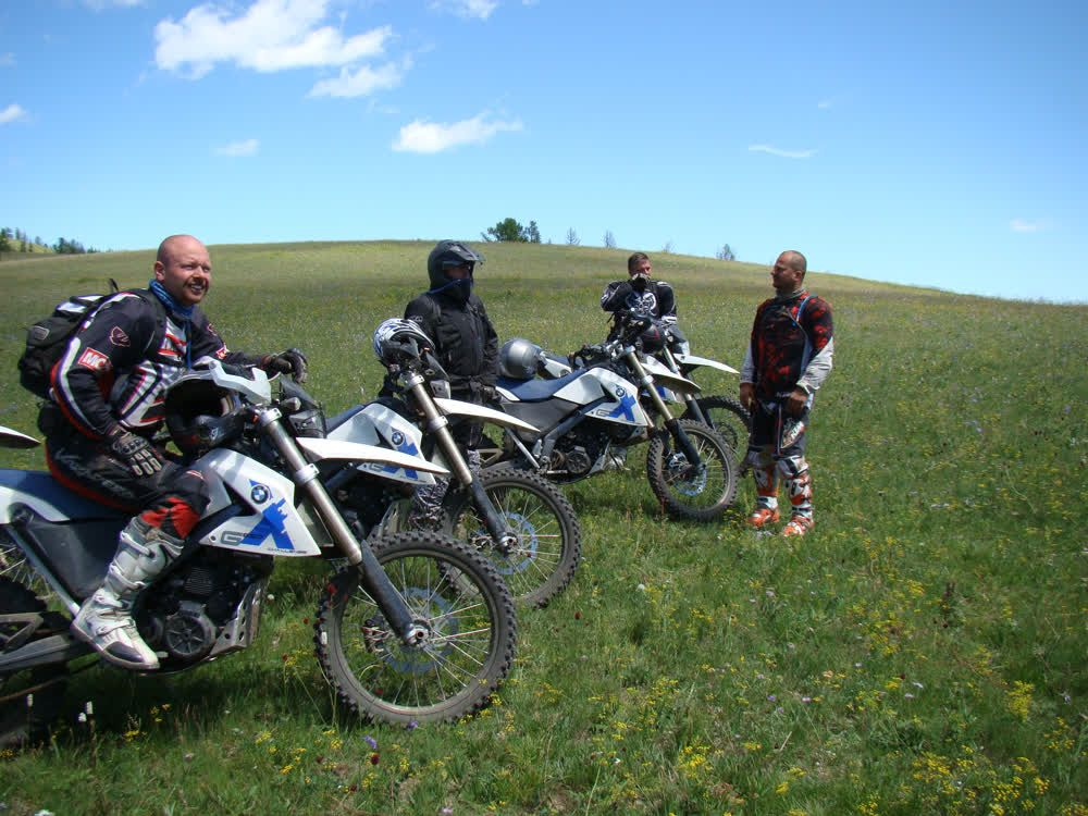 title: Motorcycling in nature Mongolia