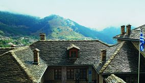 title: Old house Metsovo Epirus Greece