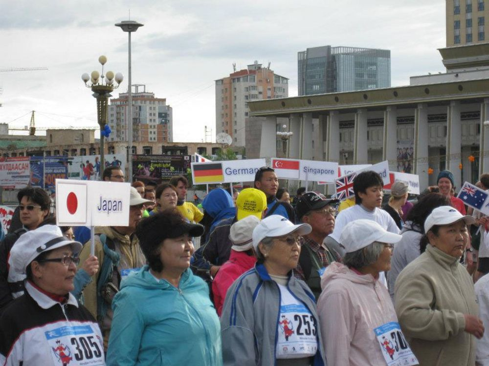 title: Participants of Marathon Mongolia
