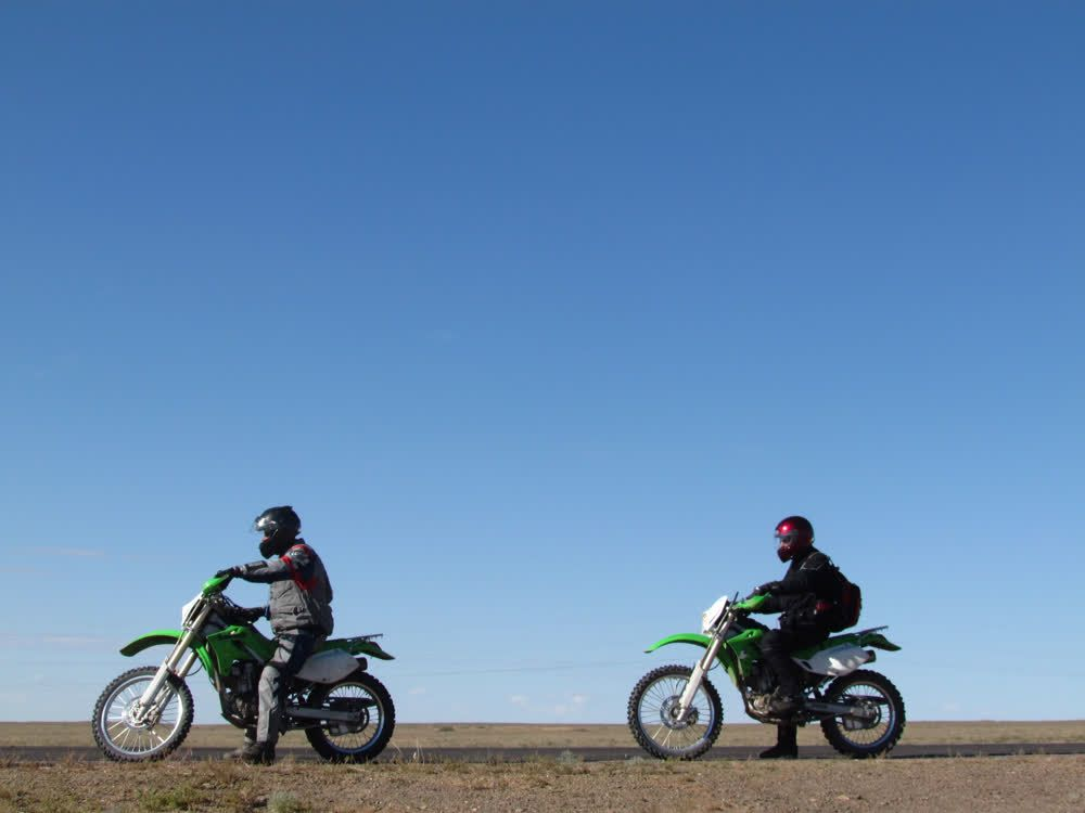 title: Riding in nature Mongolia