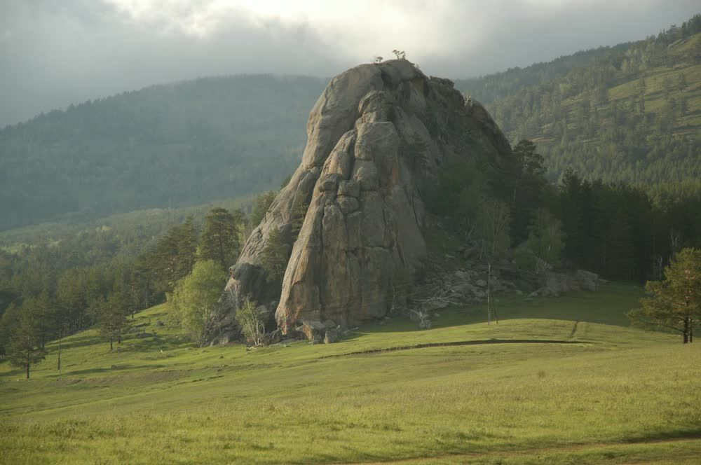 title: Rock at Dugana Had Mongolia