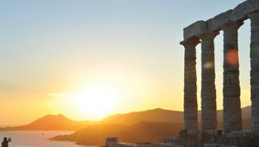 Sounio Temple of Poseidon Attica Greece