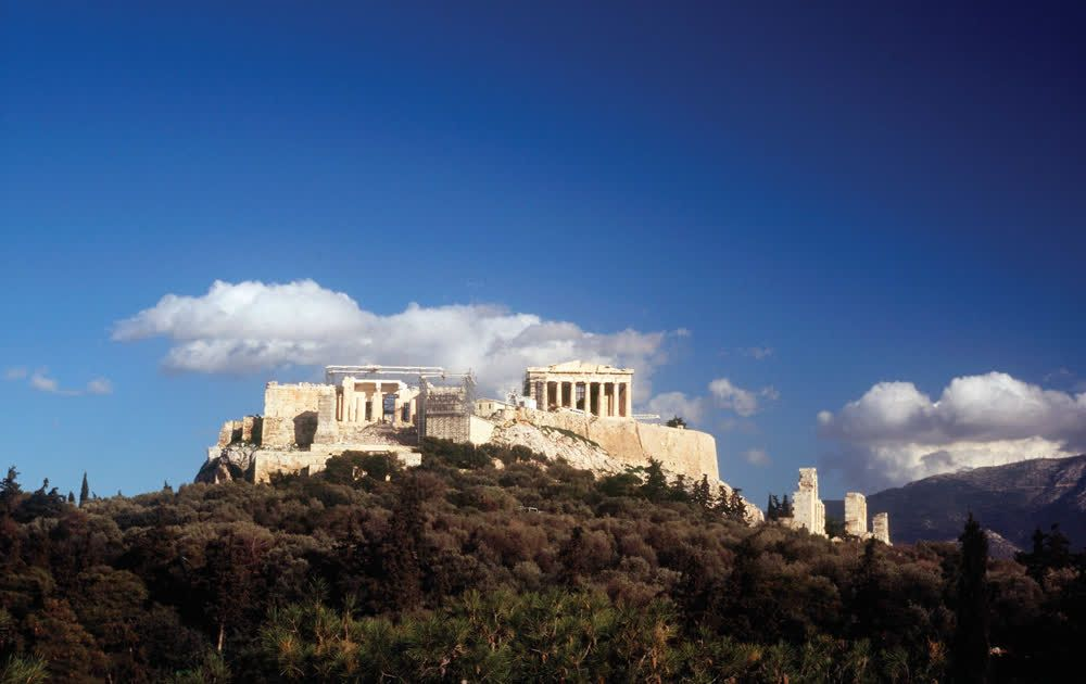 title: The Acropolis of Athens Attica Greece