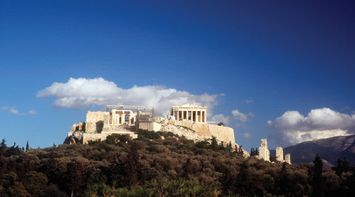 The Acropolis of Athens Attica Greece