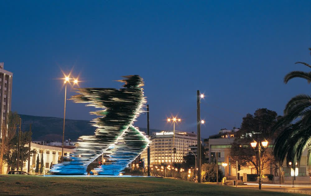 title: The Runner Athens Attica Greece