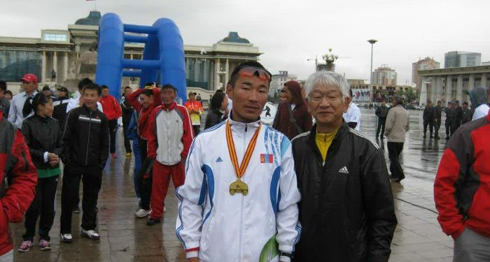 title: Winner in Marathon Mongolia
