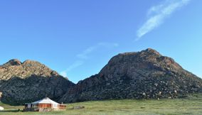 live for a time in a camp khankhar Mongolia