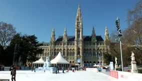 A Lovely Video of the Renowned New City Hall on Rathausplatz and its Winter Festivities in Vienna Austria