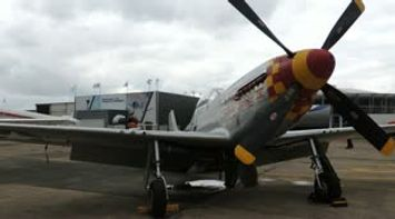 title: Mustang P51 avion de chasse Bourget 2013
