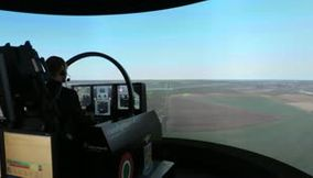 Simulateur de l Eurofighter Typhoon