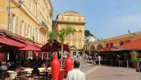 Discover Nice The Old City By Taxi Bike France