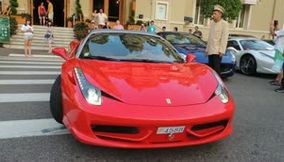title: Ferrari at Casino Monte Carlo Monaco